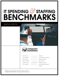 IT spending and staffing benchmarks, budgetary ratios